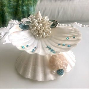 Seashell Ring Jewelry Holder 🌴 Beach Decor